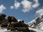 Tibet, Kailash-Kora, Dolma La pass (5630m): The last hundred meters to climb!