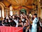 Nepal, Central Region, Bagmati Zone, Kathmandu, Bal Mandir, Khulla Dhoka exhibition, inauguration ceremony: Guests