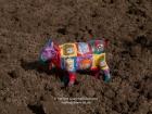 Germany, Stuttgart-Moehringen: Cow on a field (Reyerhof)
