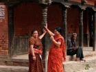 Exhibition 'Nepal' in the Theaterhaus Stuttgart 2019 - III.2 Streetscenes Ladies
