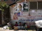 Nepal, Central Region, Bagmati Zone, Lalitpur, Patan, Patan Dhoka: Streetvendors selling their very few vegetables