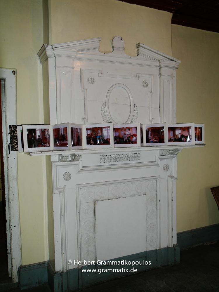 India, Kashmir, Srinagar, Khoj International Artists Workshop 2007: Installation of Hannah Matthews (Great Britain)