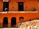 "Nepal, Western Region, Lumbini Zone, Palpa District, Tansen: The house of Uttam Bajracharya's workshop ""Palpali Keruwa Udyjog "", in Taksar Tole, Palpa, Tansen Ward 5 in the wintersun"