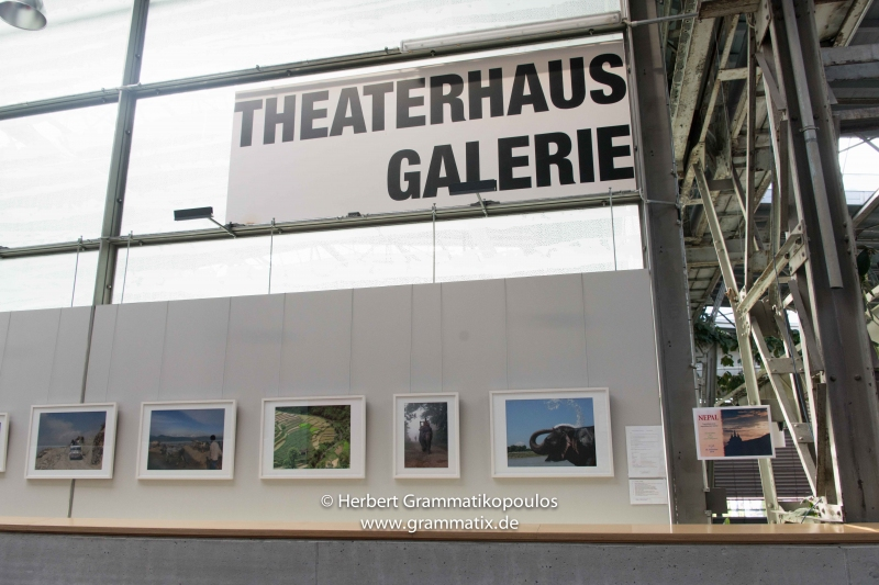 Exhibition 'Nepal' in the Theaterhaus Stuttgart 2019
